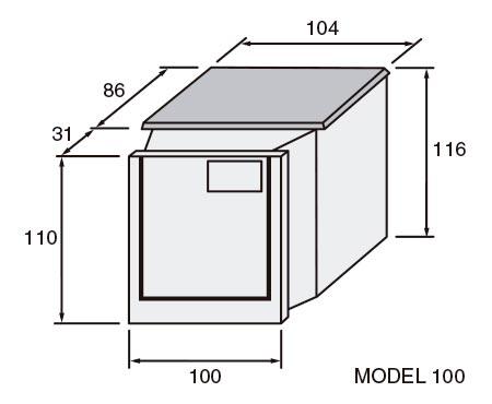 Esquema de filtració integral Graf 100