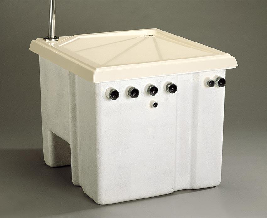 Filtració local tecnic encastable tapa dutxa beix