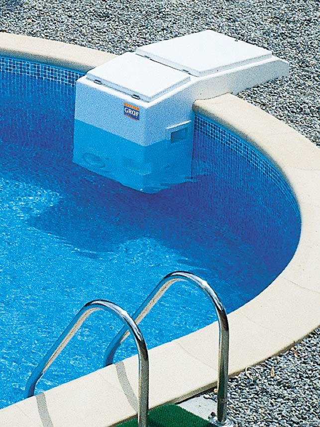 Filtracio de piscina tècnic Graf