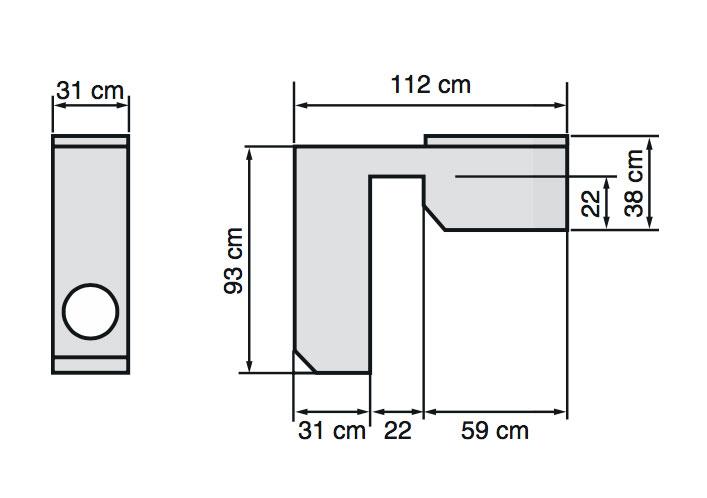 Filtració tècnic Graf mini encastat