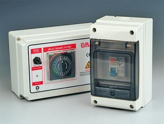 Quadres elèctrics per filtració piscina