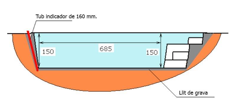 Excavació piscina de polièster Graf Tamariu