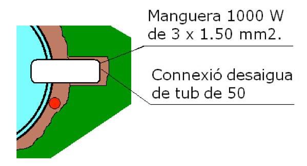 Connexions piscina de polièster Graf 75 ronyó