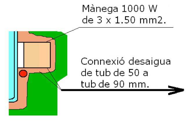 Connexions piscina polièster filtració integral Graf