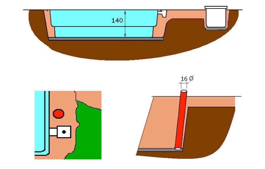 Excavació piscina de polièster Graf 45