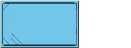 Piscina rectangular de polièster Graf Xelida